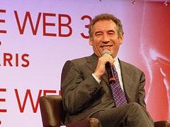 web3: François Bayrou appelle la blogosphère à le soutenir