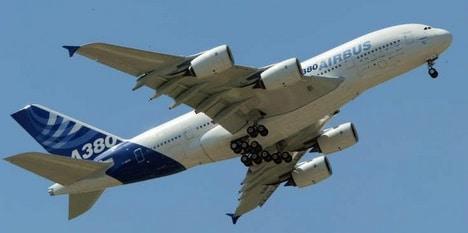EMBARQUEMENT A BORD DE L'A380