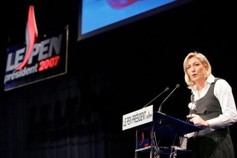 Parrainages : Marine Le Pen scandalisée par la conspiration faite autour de son père