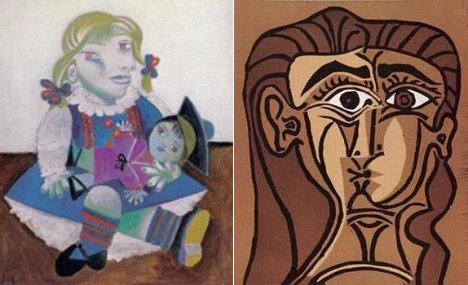 Deux Picasso dérobés à Paris …