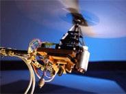 un micro-hélicoptère vole en s'inspirant du système de détection de la mouche