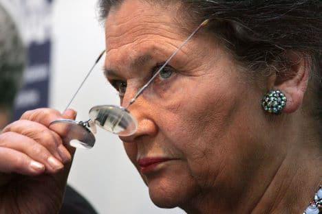 Simone Veil rejoint Nicolas Sarkozy !
