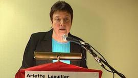 Arlette Laguillier fustige le programme social de Ségoléne Royal !!