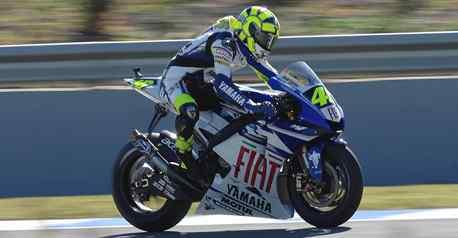 Jerez : le retour de Valentino Rossi !