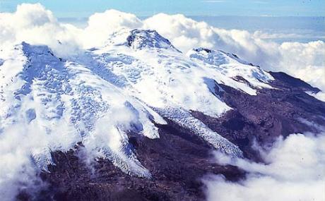 Colombie : éruption en haute altitude …