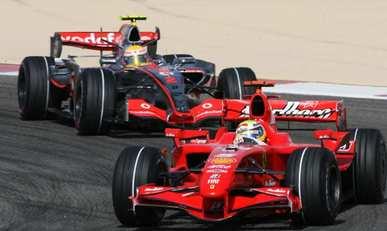 Felipe Massa survole le Grand Prix d'Espagne1