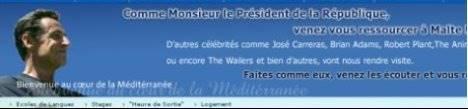 Nicolas Sarkozy se lance dans la publicité …