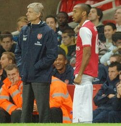 Arséne Wenger & Thierry Henry …le ticket choc du mercato !