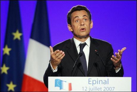 Nicolas Sarkozy ressuscite la mémoire gaullienne