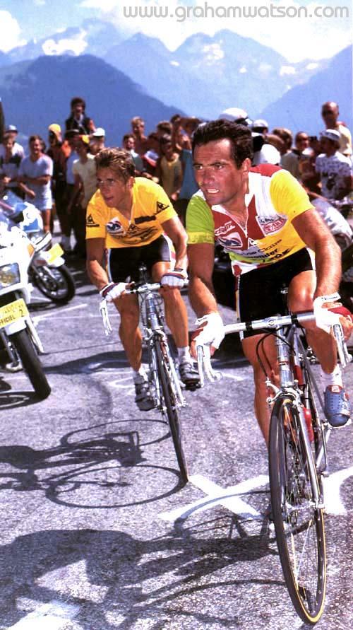Greg Lemond doute d'Alberto Contador.