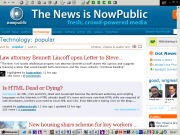 NowPublic: devenir la plus grosse agence de presse mondiale !!