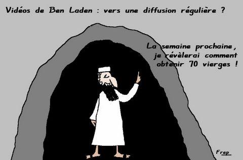 Vidéos de Ben Laden  : vers une diffusion régulière  ?
