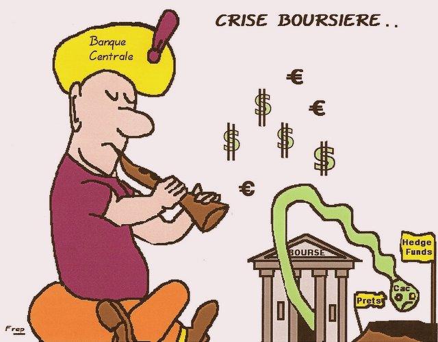 Crise financière : les  banques centrales en première ligne . .