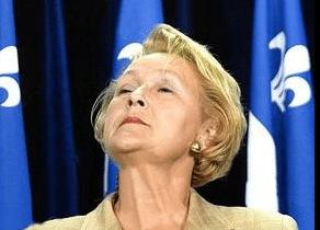 Pauline Marois, version québécoise de Marie-Antoinette