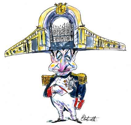 Nicolas Sarkozy : le Président devenu un bouffon chez les tsars !!