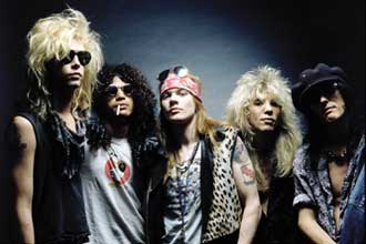 Guns N'Roses : un livre multimédia en ligne ! Avant Chinese Democracy!!