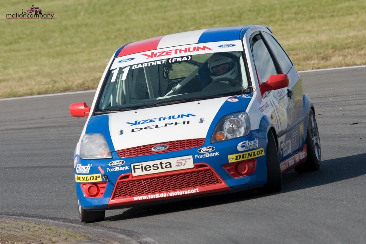 Ford Fiesta ST Cup – Julien BARTHET : Cap sur 2008!