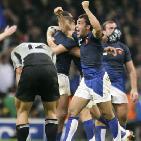 RUGBY 2007 – La France bat les All-Blacks : En route pour la 1/2 finale !