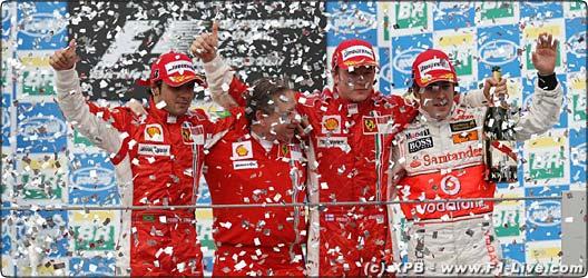 F1 2007 : «Iceman» fait taire ses détracteurs…sur le fil !