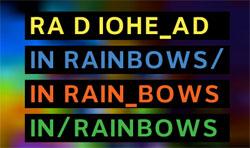 IN RAINBOWS, TRES CHOUETTE ALBUM DE RADIOHEAD