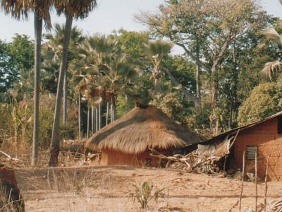La maison Diola au Sénégal