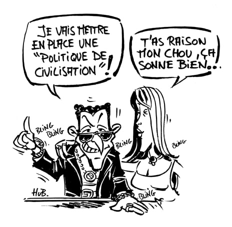 Sarkozy missionnaire en terre sauvage de France