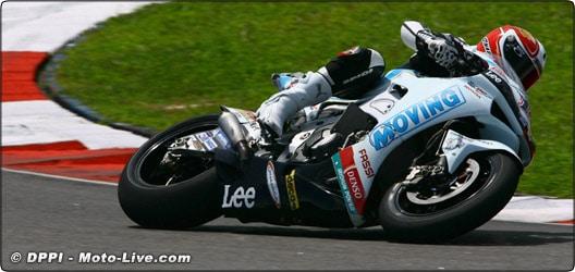 MOTO GP : Le Français Randy De Puniet place Honda en tête de la hiérarchie !