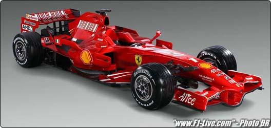 Formule 1 : La nouvelle Ferrari est née !