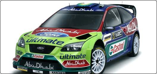Rallye WRC : Ford présente sa nouvelle Focus