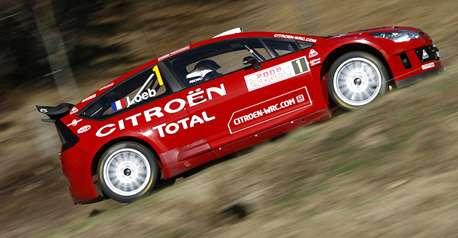 RALLYE WRC : Loeb s'impose au terme d'un scénario idéal pour CITROËN