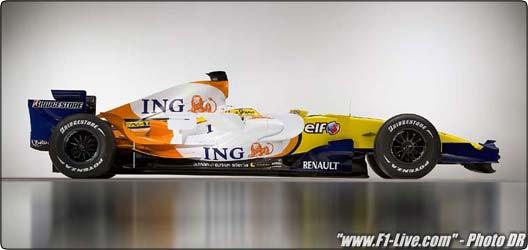 Formule 1 : Renault dévoile sa nouvelle R28 à Paris