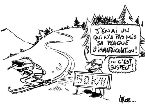 SUISSE : radar sur les pistes de ski…