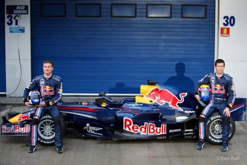 F1 : Présentation de la Red Bull Renault