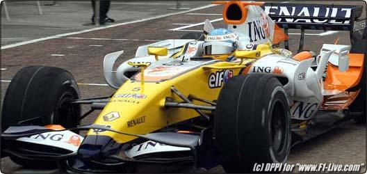 F1 : La nouvelle Renault roule à Valencia !