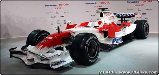Formule 1 : La nouvelle Toyota F1 a été présentée !