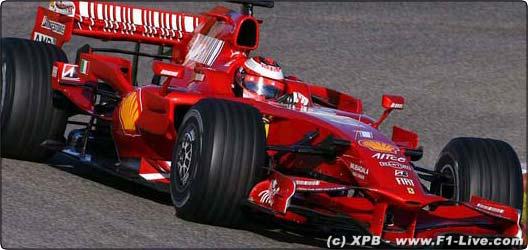 Formule Un : Ferrari et Raikkonen impressionnent au Bahrein