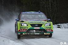 Rallye de Suède -1ère journée : Insolente domination des Ford Focus
