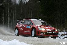 Rally WRC / Rallye de Suède : Sébastien Loeb abandonne sur sortie de piste !