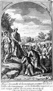 Un chercheur affirme que Moïse était sous l'emprise de stupéfiants !