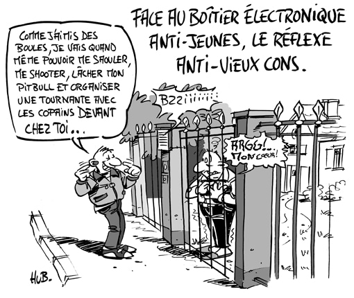 Le «boîtier anti-jeunes» arrive en France
