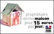 Ma maison à 15 euros… par jour !