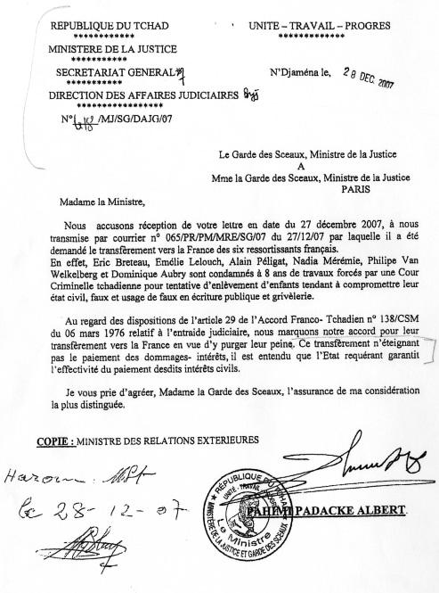 Arche de Zoé : François Fillon …et les subtilités de la langue française !