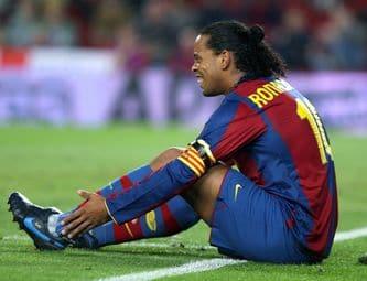 Ronaldinho serait perdu pour le football !