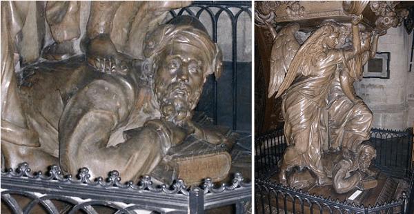 Polémiques autour d'une statue d'église représentant, peut-être, Mahomet