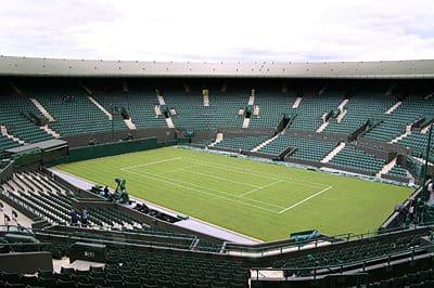 A une semaine de Wimbledon…les joueurs s'attaquent au gazon.