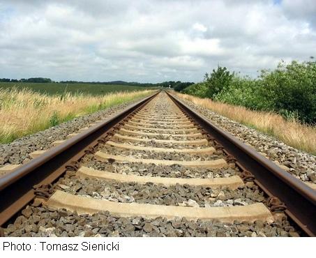 Écrasé par un train pour une lettre d'amour