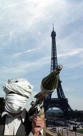 Menace taliban contre Paris