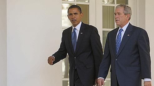Obama  le meilleur ami de George Bush