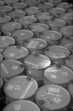 La Côte-Nord, un site d'enfouissement de déchets radioactifs