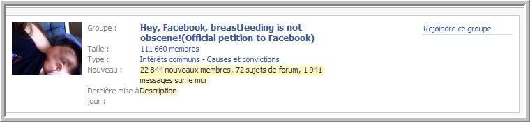 Des seins sur Facebook: censure ou pas ?